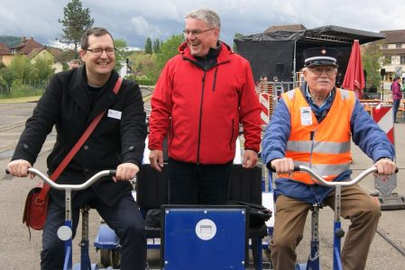 Grenzüberschreitendes Museumsbahnfest 2019 trotzt Wind und Wetter
