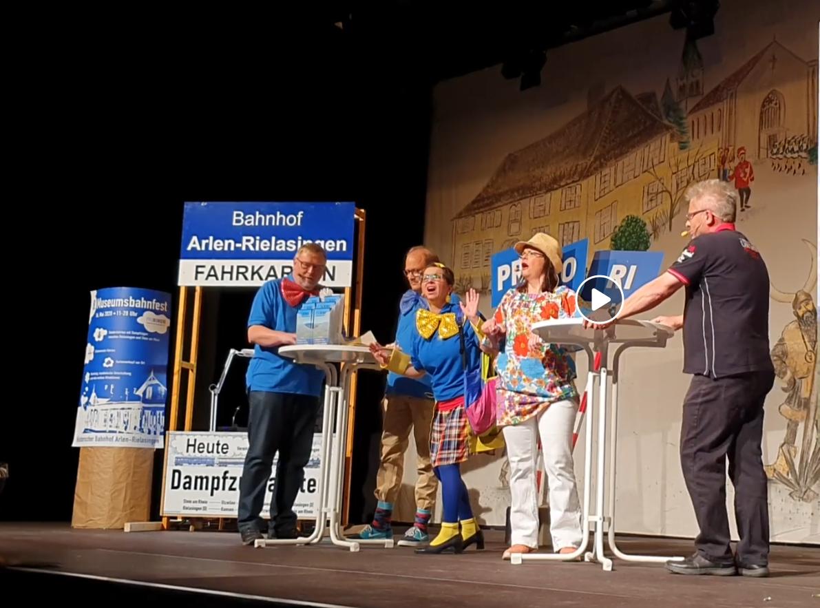 """""""PRORIWO mit Volldampf am Worblinger Narrenspiegel"""""""